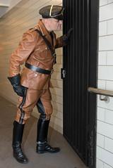 Fetish uniform Cop