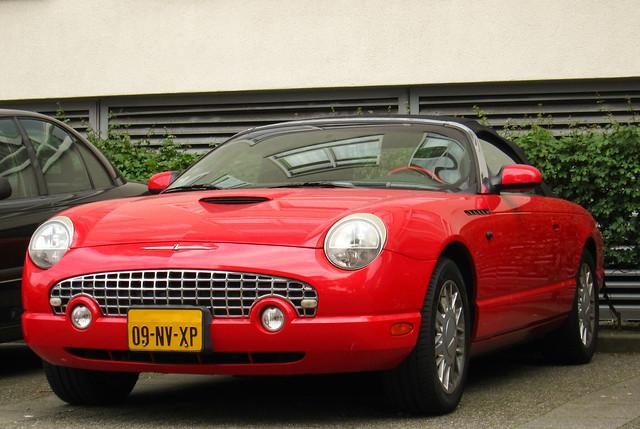 2002 ford thunderbird v8 46 tbird fordthunderbird 09nvxp sidecode6