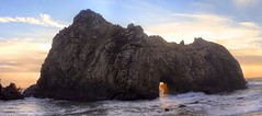 Pfeiffer Beach Sunset (gigi4180) Tags: sunset bigsur pfeifferbeach keyholerock