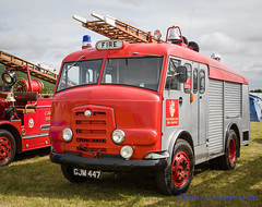 IMG_7211_ Vintage & Classic Emergency Vehicles (GRAHAM CHRIMES) Tags: rescue classic vintage fire photography photos engine vehicles commercial vehicle fireengine ladder emergency tender 1959 preservation gamecock commer steamrally firerescue mainarena karrier gjm447 wwwheritagephotoscouk