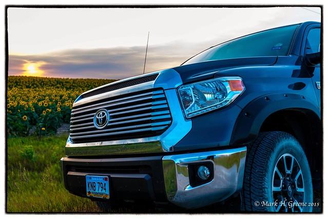 sunset truck 4x4 fender sunflower toyota tundra flares trd