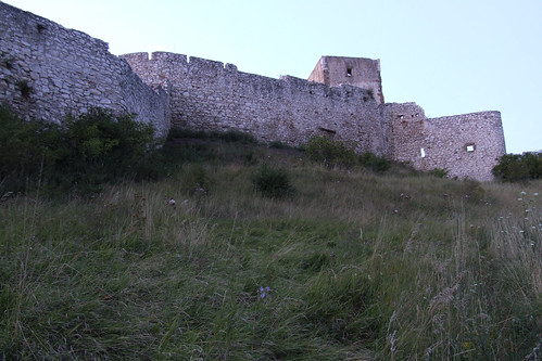 Wall of Spiš Castle, 19.08.2008.
