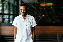 Chef Gregory Gourdet // Departure (DEARTH !) Tags: portrait denver departure restaurant dearth normal man japanese cook 50mm colorado coloradophotographer food foodanddrink gregorygourdet chef cherrycreek