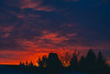 magenta morning (thatgirlwiththekicks) Tags: magenta morning sunrise dawn purple red golden yellow orange blue silhouette stthomas ontario canada nature