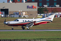 C-FGMQ | Pilatus PC-12/47E | Royal Canadian Mounted Police (james.ronayne) Tags: cfgmq pc12 pilatus royal canadian mounted police