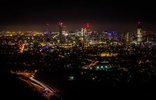 Bright lights, hazy city. 344/366