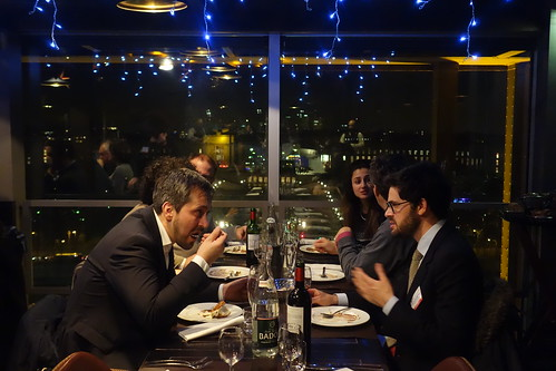 "EPIC Biophotonics Workshop ""Translating Biophotonics Technologies to Clinical Oncology dinner at eiffel tower(39)"