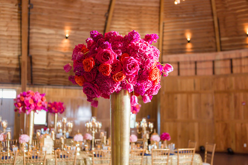 """Gold Milan Floral Centerpiece • <a style=""""font-size:0.8em;"""" href=""""http://www.flickr.com/photos/81396050@N06/31705591870/"""" target=""""_blank"""">View on Flickr</a>"""