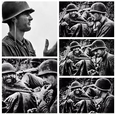 U.S. Marine machine gunner Corporal Leonard Hayworth, Korea 1950 (Peer Into The Past) Tags: peerintothepast semperfi 1950 honorthefallen koreanwar history marinecorps marines usmc