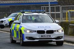 NK15 DYM (S11 AUN) Tags: durham constabulary bmw 330d 3series xdrive touring anpr police traffic car rpu roads policing unit 999 emergency vehicle nk15dym