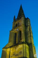Clocher de l'eglise Monolithe (jdelrivero) Tags: paises arquitectura saintémilion torre francia countries france tower architecture nouvelleaquitaine fr