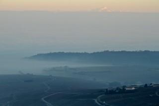Ghostly landscape