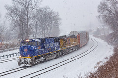 On the Move Again (sully7302) Tags: union pacific csx olympic torch relay unit up sd70m 2001 es44ac new jersey national docks river subdivision ridgefield park city teaneck