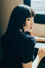 DSC_2515-1 (Ivan KT) Tags: art photography conceptual exhibition taiwan lotus girl woman light shadow sight portrait backlighting