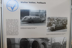 futuristic bus by Walter Vetter, photo ca 1938 (Mc Steff) Tags: futuristic bus fellbach walter vetter 1938 omnibus reisebus retroclassicsmessestuttgart2016