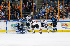 "Missouri Mavericks vs. Wichita Thunder, January 7, 2017, Silverstein Eye Centers Arena, Independence, Missouri.  Photo: John Howe / Howe Creative Photography • <a style=""font-size:0.8em;"" href=""http://www.flickr.com/photos/134016632@N02/32210089146/"" target=""_blank"">View on Flickr</a>"