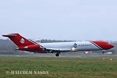 B727-2S2F(RE) G-OSRB OIL SPILL RESPONSE (shanairpic) Tags: jetairliner b727 boeing727 shannon oilspillresponse gosrb