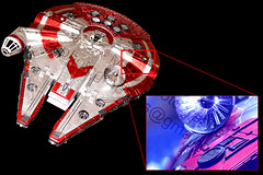 MM: Contraption: Millennium Falcon Greeble (Plz Read Description) (Mark Photography 2017) Tags: aerial angle antenna art artificial background blurred cinema class close closeup composition corellian crafts detail dish equipament exhaust falcon fantasy feature fiction film flick focus format framing freighter front gear genre horizontal indoor instrument interior landscape light lighting machine macro macromondays millennium mondays motion movie moving mythical object orientation photo photography picture rectenna rectifying scifi setting ships space spacecraft spaceship star style talkie theater theatre top tripod universe up vehicle vessel view wars yt1300artscraftsphotographysettinginteriorindoorphotogenrestyletypemacromondaysmacromondaysartgeartripodorientationlandscapelightingartificiallightframingcompositioncloseupcloseupdetailformathorizontalfocusbackgroundblurr