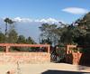The Hotel at the End of the Universe (mrdamcgowan) Tags: mountains himalayas snowcapped nagarkot nepal mountainrange view cloud astrocumuluslenticular bluesky hotelattheendoftheuniverse langtangrange cloudsthatlooklikeufos