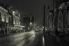 Noche (Carlos Peña Fernandez) Tags: noche gante gent belgica belgium blanco negro blackandwhite byn streetphoto street calle fujifilm fuji xt1 fujinon16mm 16mm