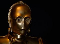 1654 - Il rompiscatole (Diego Rosato) Tags: c3po d3po star wars guerre stellari robot droide droid fuji x30 rawtherapee