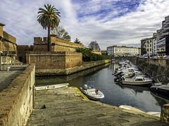 Fortezza Nuova, Livorno (Tony Tomlin) Tags: fortress livorno italy tuscany canals venezianuova venezia fortezzanuova