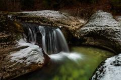 Les Marmittes de Géants II | St Germain de Joux (DB landscapephotographer) Tags: rhonealpes marmitesdegéants waterfall cascade neige