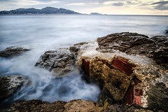 Ghost sea. (La.Cave.) Tags: marseille wind sea outdoor nature landscape fujifilm seascape salty long wide