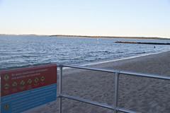 2017 Sydney: Botany Bay #12 (dominotic) Tags: sydney nsw australia newsouthwales 2017 warningsign swimmer botanybay water beach brightonlesands portbotany sydneyairport airportrunway ladyrobinsonsbeach