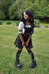 TACA_0324 (Beautiful Presence) Tags: hello portrait woman girl beautiful face pose model women shoes pretty kitty posing gamer kawaii piercings