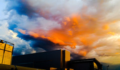 Vivid Sky - morning sunrise time - Filderstadt (eagle1effi) Tags: sky sun vivid sonne filderstadt regionstuttgart photoshopforandroid samsunggalaxys5
