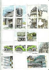Quick location sketches in Paris (velt.mathieu) Tags: paris sketch croquis