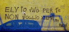l'amore sui muri (enricoerriko) Tags: nyc italien red italy streetart paris green love colors yellow graffiti la us italia peace estate gente photos moscow beijing mercado amour posters iloveyou ra murales mercato sidney italie marche scarpe bua lomdon muri bicicletta commercio lemarche sabato scritte camberra tiamo bl casepopolari civitanovamarche portocivitanova vendere settimanale comprare march weeklymarket citan sanmarone erriko civitanovese abbigliamente enricoerriko amoursurlesmurs