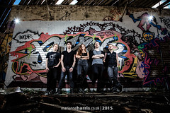 Silent Divide 2015 (Marianne Harris - UK music + portrait photographer) Tags: marianneharris uk marianneharriscouk music photographer rock silentdivide alternative graffiti abandoned lights marianne harris destroy derelict 2015 colour colourful marianneharrisphotography