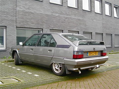 1991 CITROËN BX 16 Chic (ClassicsOnTheStreet) Tags: classic car amsterdam outdoor citroën vehicle streetphoto spotted 1991 16 chic 1990s 90s streetview hatchback straatbeeld gandini strassenszene noord 2014 bertone youngtimer bx amsterdamnoord klassieker gespot straatfoto marcellogandini carspot nucciobertone computerweg dbzj85