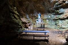 Grotte Chapelle Notre-Dame de CALERN -  Inside (Dannis van der Heiden) Tags: france church de maria chapel notredame inside cave chapelle grotte calern