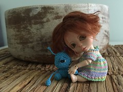 Dolls for dolls (or for you :)) (Soneekk) Tags: baby cute miniature doll handmade kane humpty amigurumi collectable nefer minilin minimystery