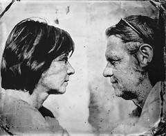 Maya & Imre (Nagy Krisztian) Tags: glass ambrotype wetplate collodion