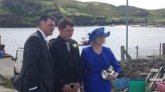 The groom and his parents (Just hit 5 million views) Tags: family wedding friends white kilt christian weddingdress isleoflewis crossbost barvas crossskigerstaroad