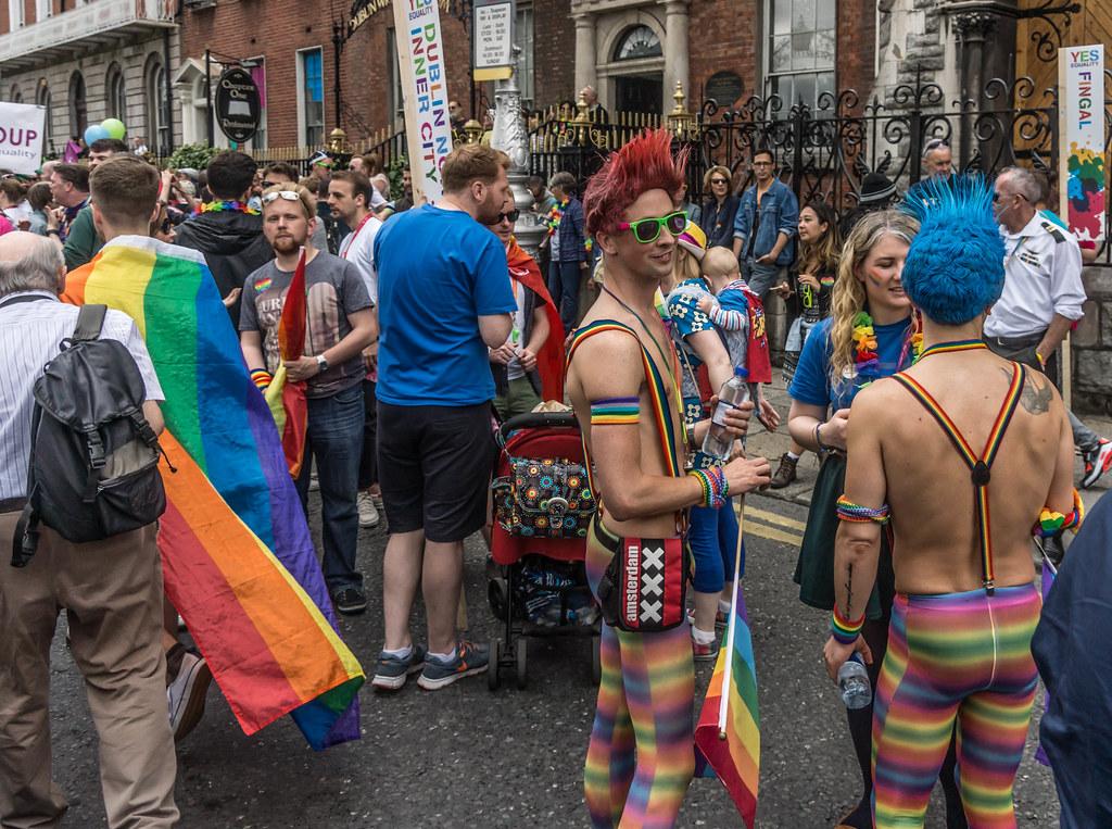 DUBLIN 2015 LGBTQ PRIDE PARADE [WERE YOU THERE] REF-105967