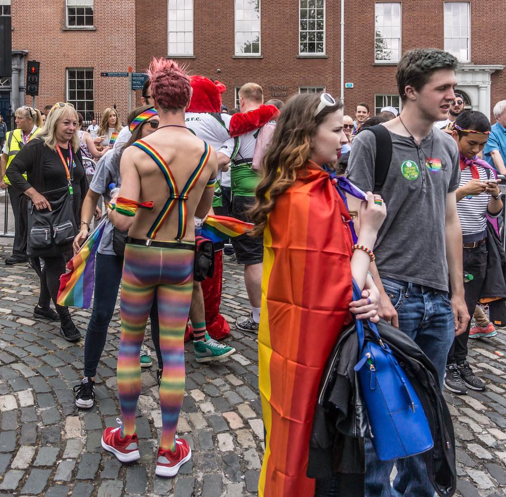 DUBLIN 2015 LGBTQ PRIDE PARADE [WERE YOU THERE] REF-105989
