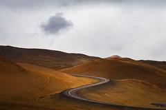 S-Kurve (96dpi) Tags: road street travel mountain landscape island iceland urlaub olympus curve landschaft omd reise kurve ringroad krafla strase 40150 mzuiko
