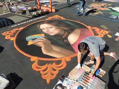 DSCN0999 (marathonwil) Tags: streetart art festivals sanrafael chalkart madonnari italianstreetpainting cuongnguyen carnevaledivenezia italianstreetpaintingmarin everylifefoundationforrarediseases