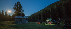 first night (fantomdesigns) Tags: road camping bc 4x4 off toyota land fj cruiser