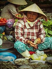 Market scene (yossimtl) Tags: food market vietnam hue