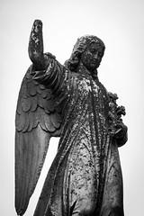 watching over (kellyjean3271) Tags: broken statue angel portland wings hand cemetary maine dir