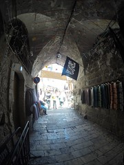 The way to muslim territory, old city, Jerusalem!