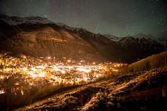Telluride at Night (mountainfilm) Tags: photography colorado unitedstatesofamerica workshop telluride nightsky 2015 mountainfilm bencanales
