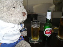 """Got me drink, now to watch the match!"" 2/8 (pefkosmad) Tags: bear vacation england holiday ted television bar toy football cafe teddy hellas fluffy greece softie slovenia match 23 greekislands pefkos rodos rhodes qualifier dodecanese pefki pefkoi euro2016 panedicapo tedricstudmuffin tedrhodes2015"