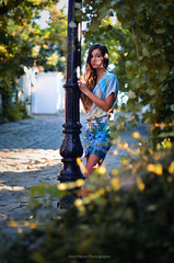 Gabi (Doni Filipov) Tags: old city sunset portrait people urban woman sunlight nature girl beauty face composition hair photography town eyes nikon bokeh plovdiv d7000
